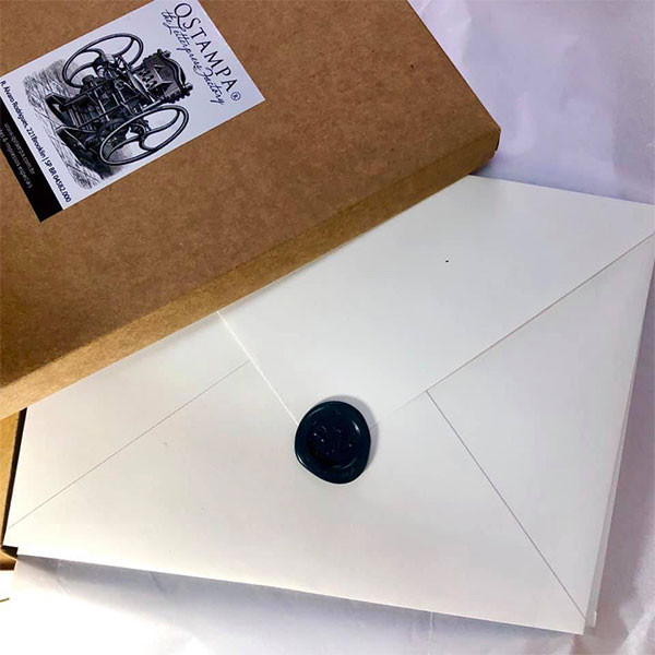 Convites de Casamento em Letterpress Sophia e Bruno